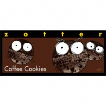 Zotter Coffee Cookies Dark Chocolate Bar 70g